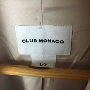 Club Monaco Jackets & Coats - Club Monaco Wool Blend Double Breasted Coat